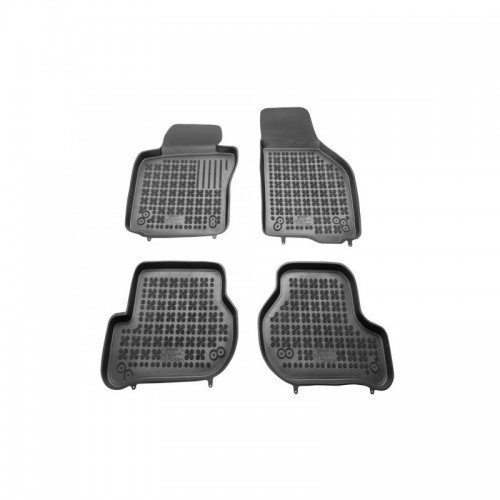 Car mats rubber Seat Leon II 2005-2013 / Skoda Octavia II 2004-2013 / Octavia II Tour após 2010 / Vw Golf V, VI 2003-2013